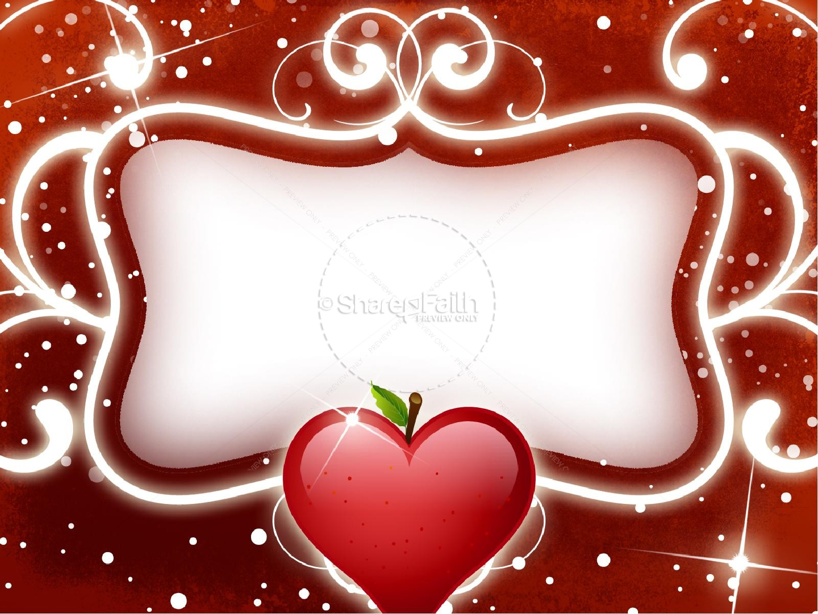 Amazing Love Valentine PowerPoint Template