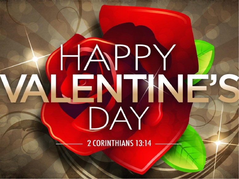 Valentine Rose PowerPoint Sermon Template