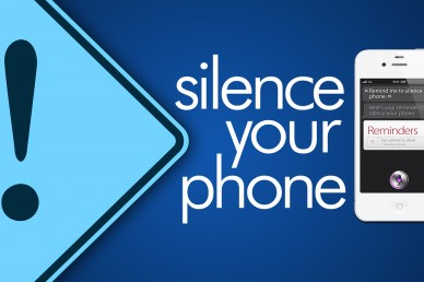 Silence Your Phone Announcement Video