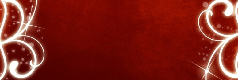 Red Swirl Website Banner