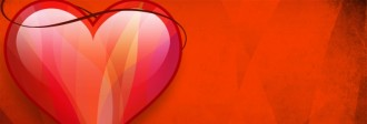Valentine Heart Web Banner
