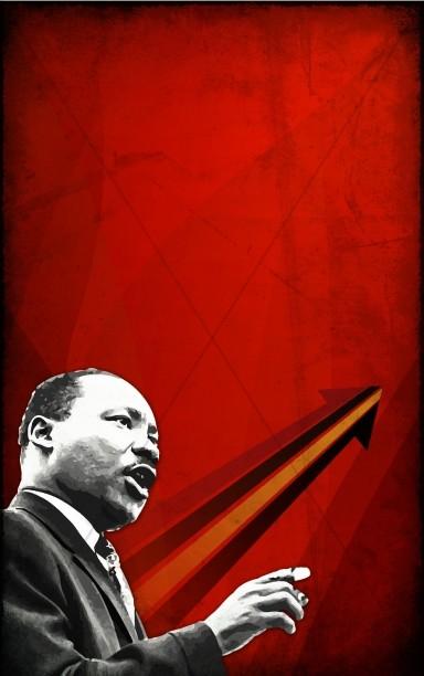 MLK Jr. Church Bulletin Cover