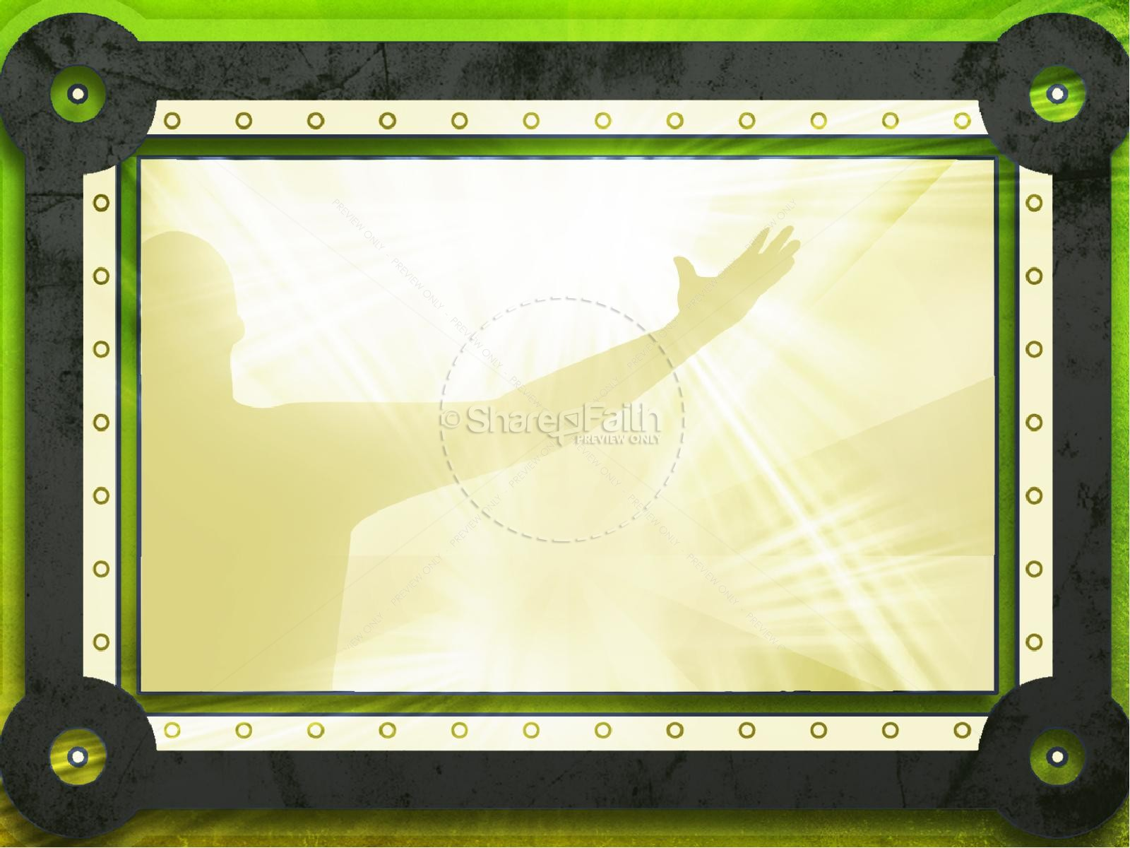 Prayer Shield PowerPoint Template