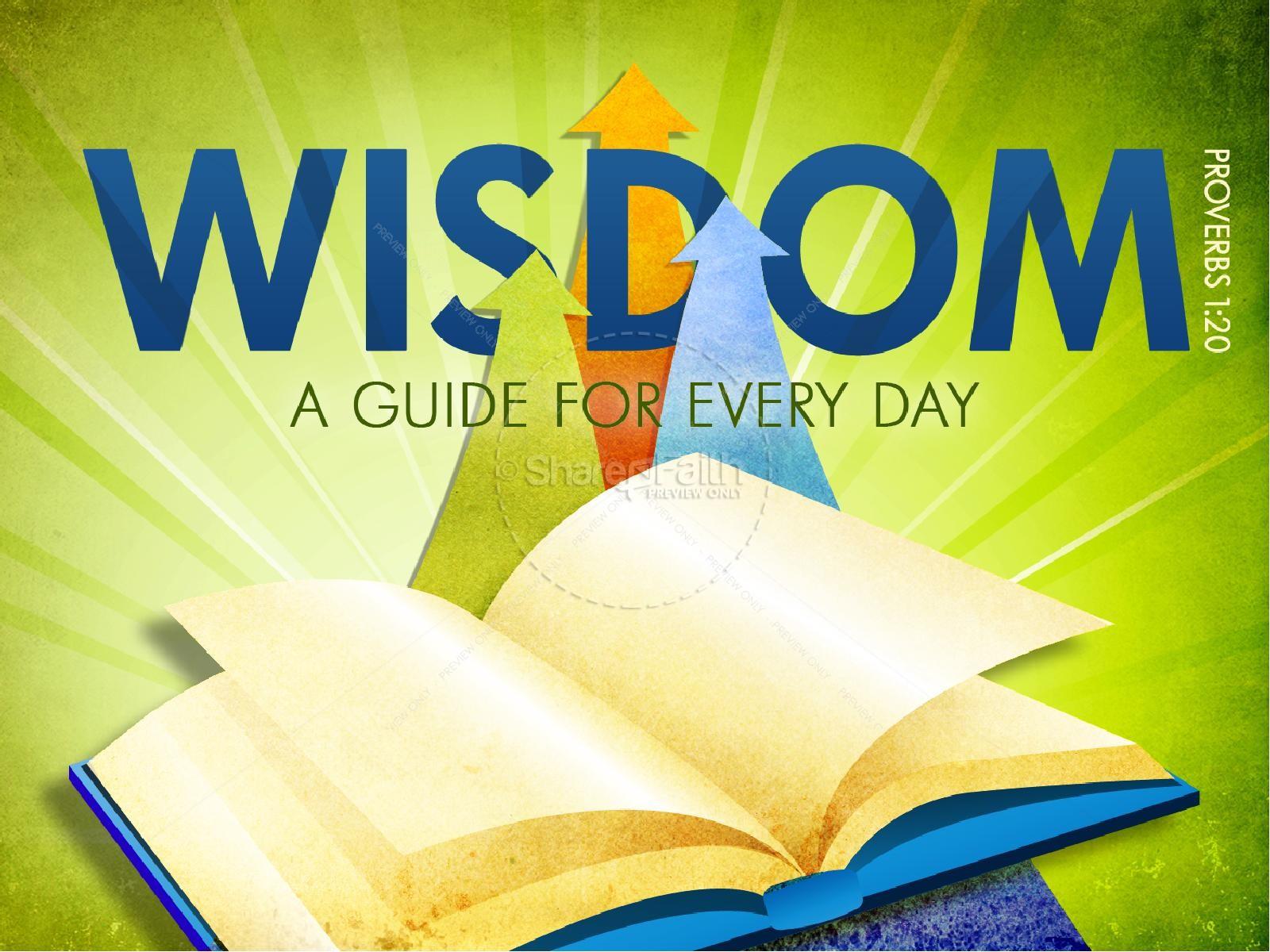 Everyday Wisdom PowerPoint