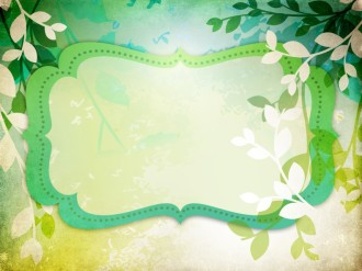 Leaves PowerPoint Background