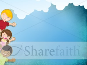 Kids Worship Background Template