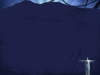 Dark Blue Worship Background Template