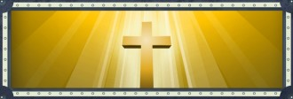 Cross in Light Website Banner