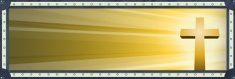 Cross and Light Website Banner