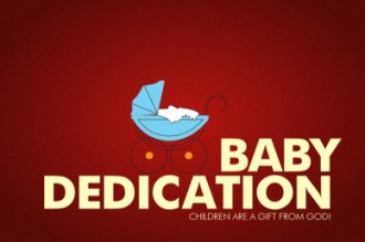 Baby Dedication Video