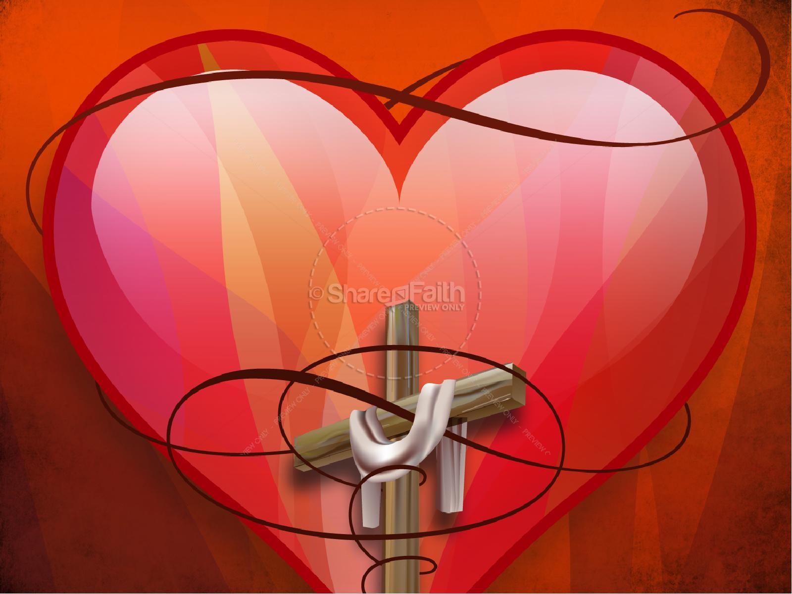 Cubierto en Amor PowerPoint