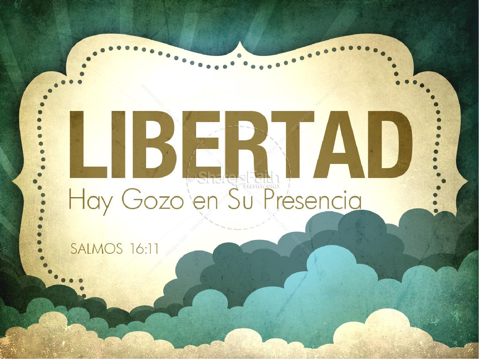 Libertad PowerPoint Sermon