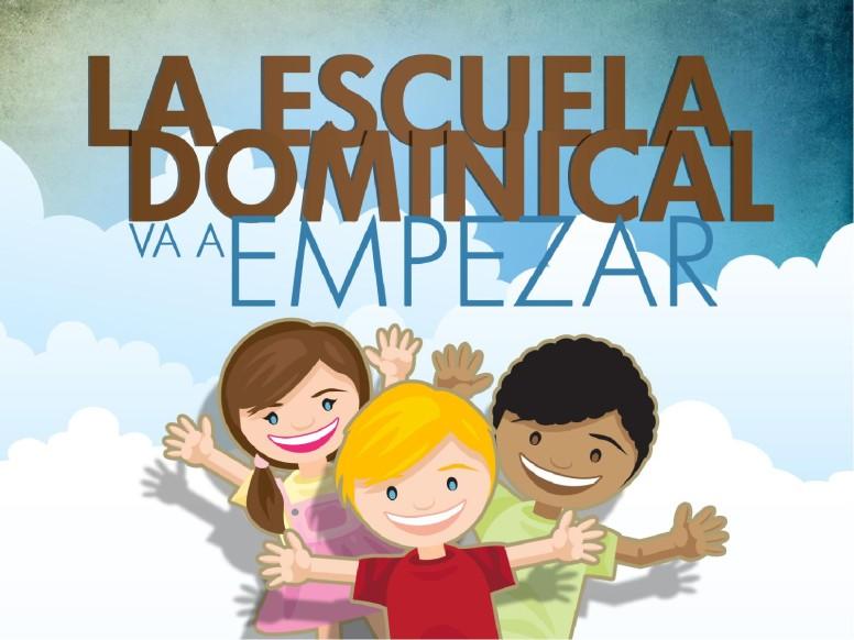 La Escuela Dominical PowerPoint