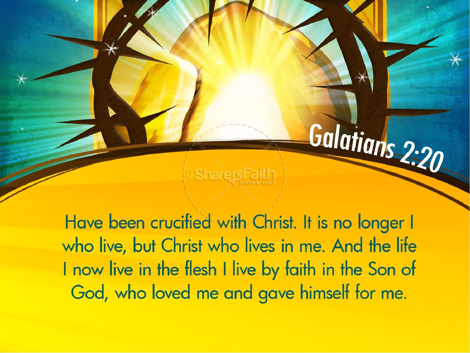 New Beginning Easter PowerPoint | slide 4