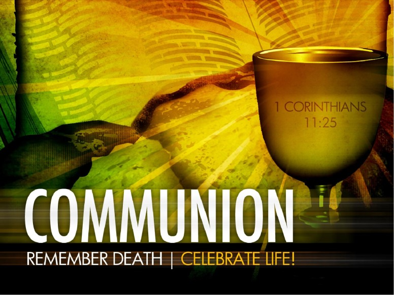 Communion Church PowerPoint Template