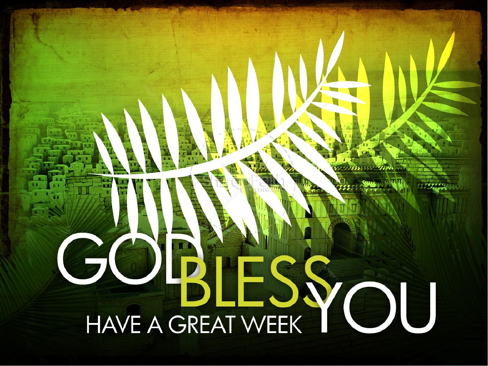 Palm Sunday PowerPoint Design | slide 3