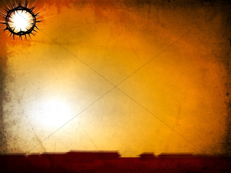 Thorns Worship Background Template