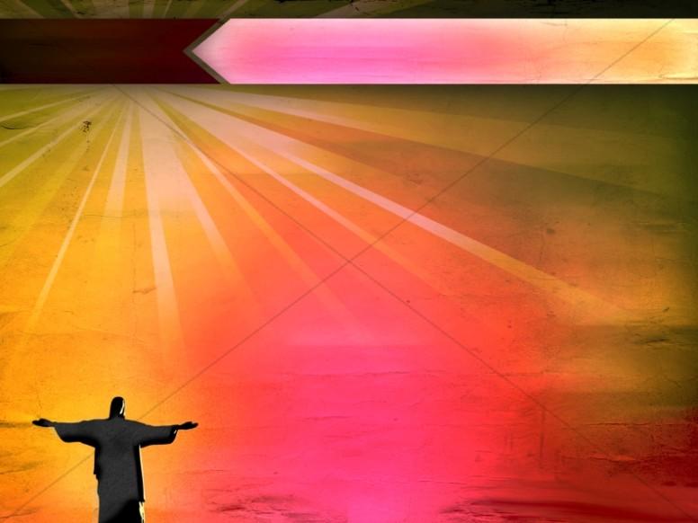 Christ the Redeemer Modern Background