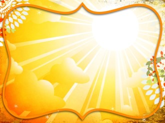 Bright Yellow Worship Background