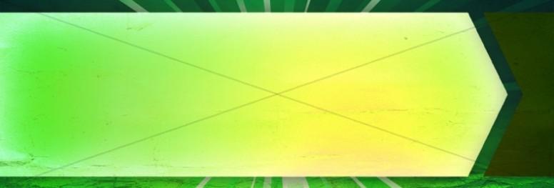Green Shape Website Banner
