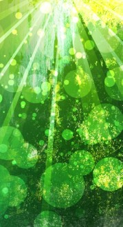 Green Bubbles Website Sidebar