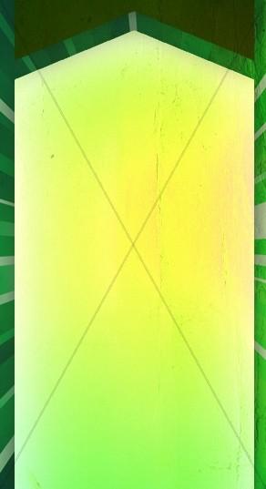 Green Banner Website Sidebar