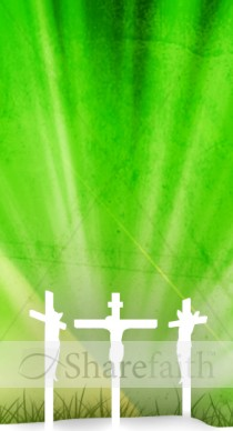 Three Easter Crosses Website Sidebar