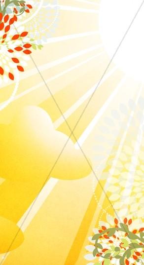 Yellow Rays Website Sidebar
