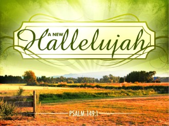 Hallelujah PowerPoint Template