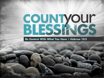 Count Your Blessings PowerPoint