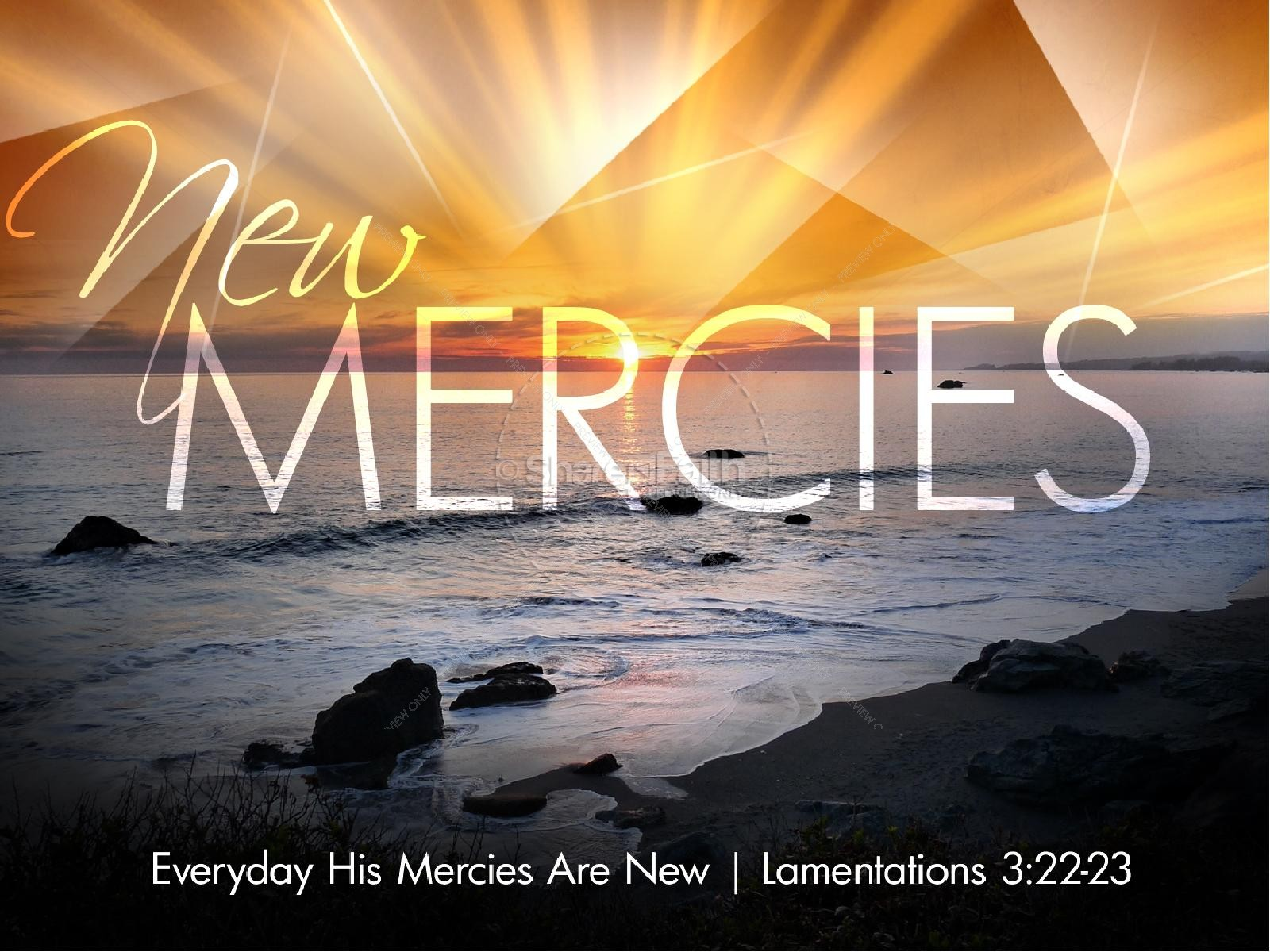 New Mercies PowerPoint