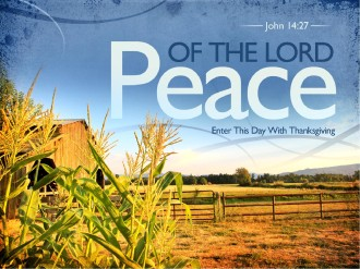 Peace of the Lord PowerPoint