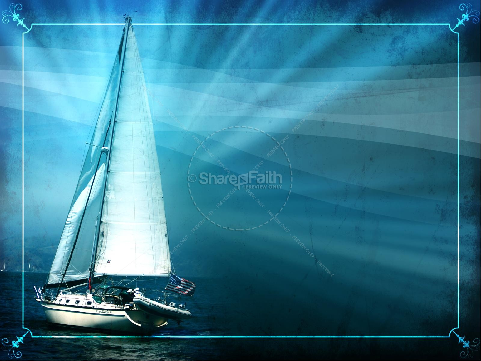 Wind In My Sails PowerPoint