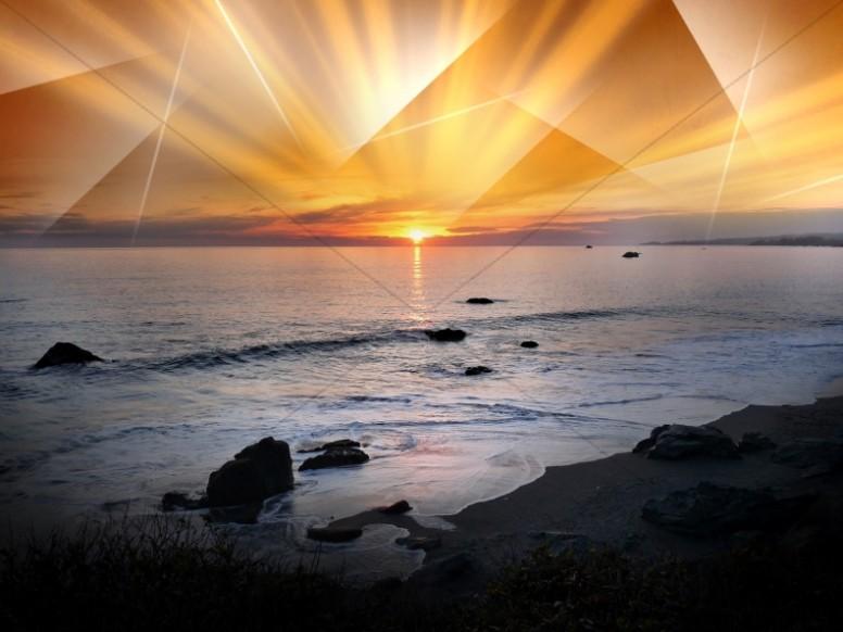 Ocean Worship Background