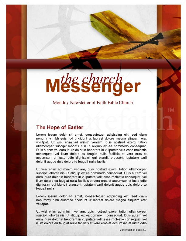 Grace Church Newsletter