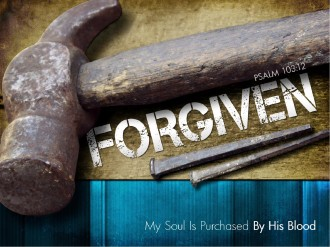 Forgiven Easter PowerPoint Church Template