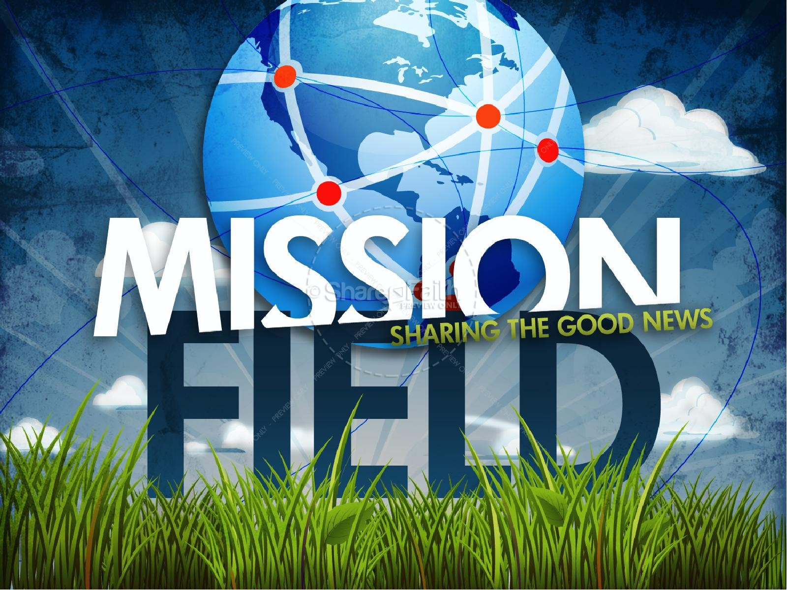 Missions PowerPoint Template For Church | PowerPoint Sermons