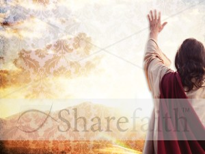 Jesus Worship Background Template