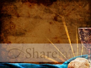 Easter Communion Worship Background