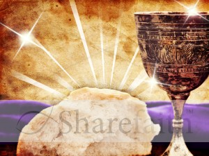 Communion Worship Background Template