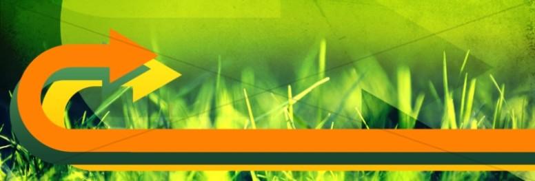 Green Grass Website Banner