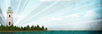 Lighthouse Website Banner Design