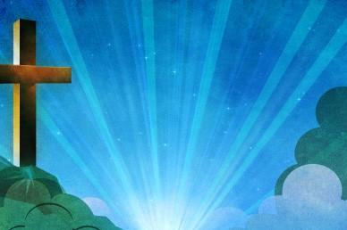 Worship Video Loop with Cross