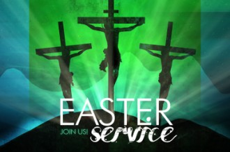 Easter Crosses Welcome Video Loop