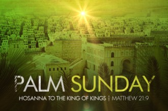 Palm Sunday Welcome Video Loop