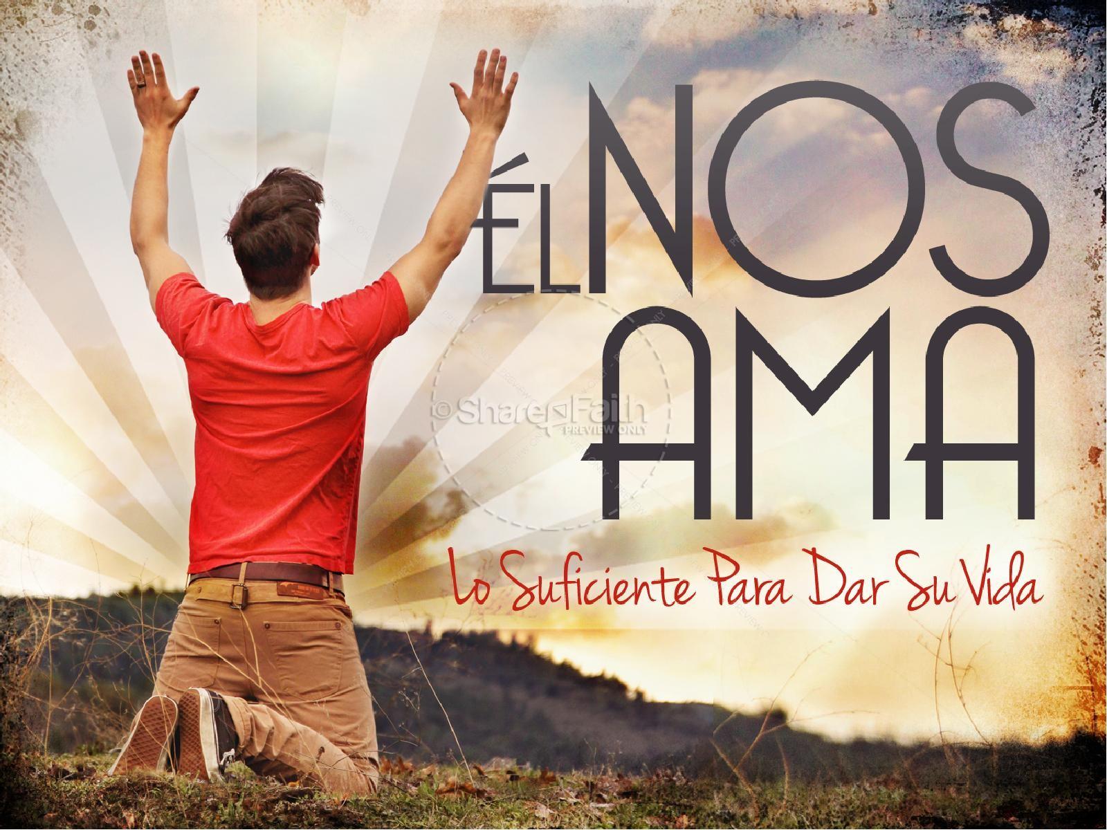 El Nos Ama Spanish PowerPoint