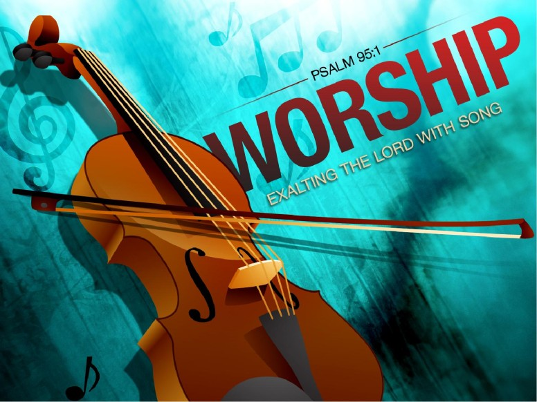 Violin Worship PowerPoint