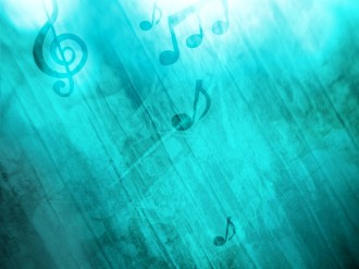 Music Notation Worship Background