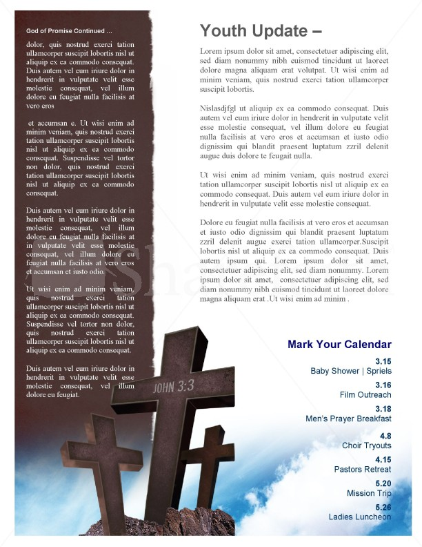 Reborn Church Newsletter