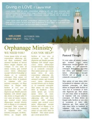 Lighthouse Newsletter Template